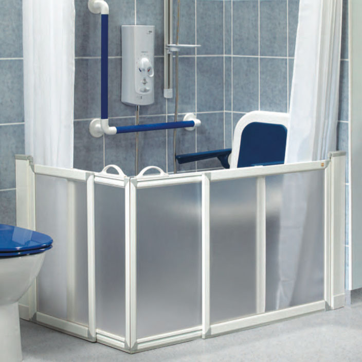 AKW - Half Height Shower Doors
